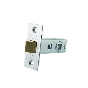 4Trade Tubular Latch CE Fire Tested Brass 64mm
