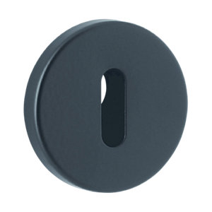 Black Std Key Escutcheon 5125-5095-F5