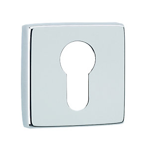 Chrome Square Euro Escutcheon 5255/22