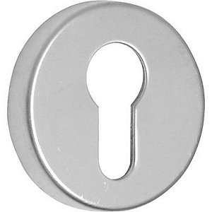 Satin Nickel Euro Escutcheon 40 398 05