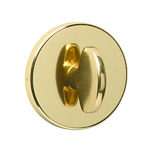 Urfic Bathroom Turn & Release Handle Polished Brass