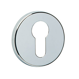 Urfic Euro Profile Escutcheon Polished Nickel
