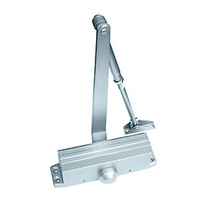 4Trade DC12 Overhead Door Closer Silver
