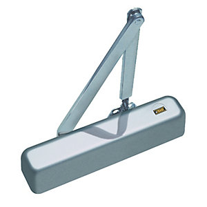 4Trade DC13 Overhead Door Closer Silver