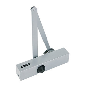 Briton 2003V.SES Overhead Door Closer Silver