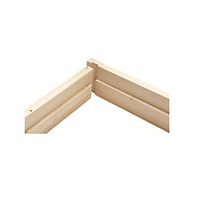 Whitewood Door Lining Set + Stops - 32 x 115mm