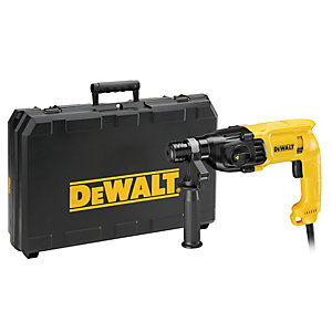 DeWalt 110V Corded  SDS-Plus 22mm 3 Mode Hammer Drill D25033K-LX