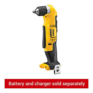 DeWalt 18V Xr Right Angle Drill Driver Bare Unit