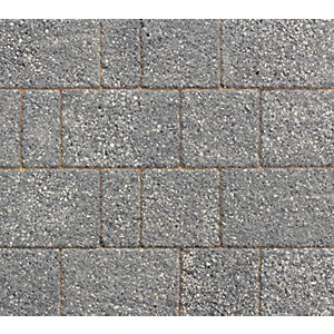 Marshalls Drivesett Argent Dark Block Paving Project Pack 10.75m² Pack Coverage
