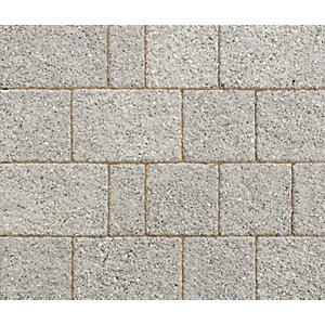 Marshalls Drivesett Argent Light Grey Block Paving Project Pack 10.75m² Pack Coverage