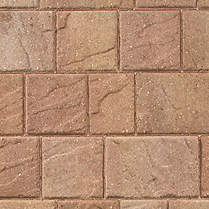 Marshalls Drivesett Natural Bronze Block Paving Light Project Pack 11.52m² Pack Coverage
