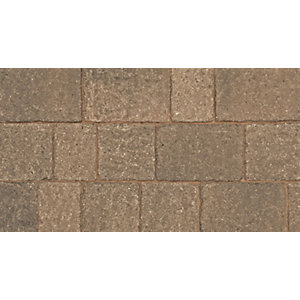 Marshalls Drivesett Tegula Block Paving Hazelnut Project Pack  8.29m² Pack Coverage
