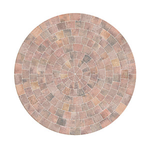 Marshalls Drivesett Tegula Circle Pack Traditional 2600mm x 50mm