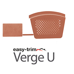 Easyverge Starter & End Cap Pack (2) Terracotta