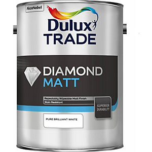 Dulux Diamond Matt Paint Pure Brilliant White