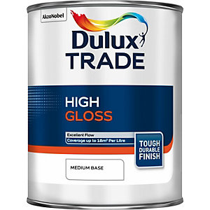 Dulux Paint Colour Dimensions Trade Gloss Paint Medium Base