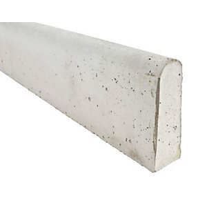 Marshalls Concrete Round Top Path Edging ER 50mm x 150mm x 915mm