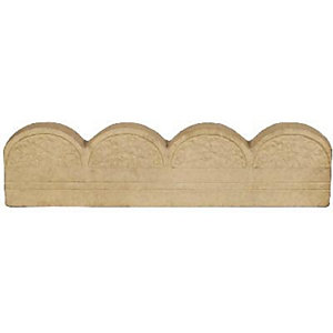 Marshalls Country Oatmeal Edging 600mm x 150mm x 45mm Pack of 60