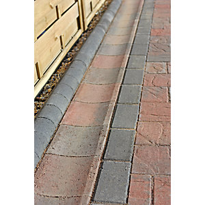 Marshalls Driveline Channel Concrete Charcoal Block Paving Slab 65mm x 200mm x 200mm