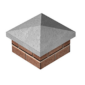 Supreme Concrete Pier Cap Buff 420mm x 420mm PC400