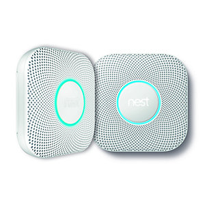 Nest Smart Protect 2ND Generation Wired Smoke and CO2 Detector S3003LWGB 2 Pack