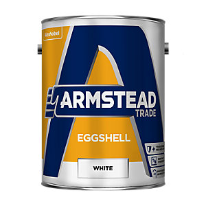 Armstead Eggshell Paint White 5L