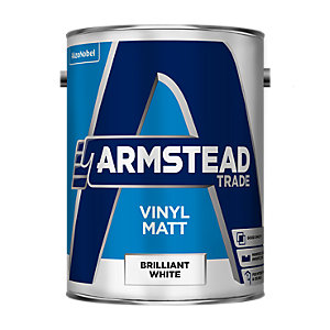 Armstead Trade Vinyl Matt Paint White 10L
