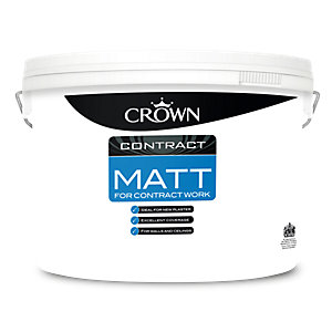Crown Contract Matt Brilliant White 10L