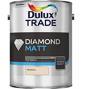 Dulux Diamond Matt Paint Magnolia 5L