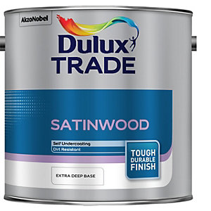 Dulux Trade Satinwood Paint Extra Deep 2.5L