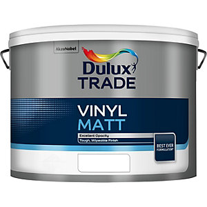 Dulux Trade Vinyl Matt Paint Tinted Colour 5L