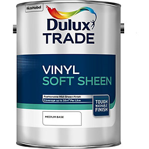 Dulux Trade Vinyl Soft Sheen Paint Tinted Colour 5L