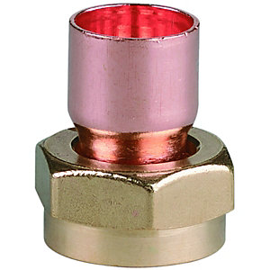 End Feed Cylinder Union Adaptor 22mm x 25mm