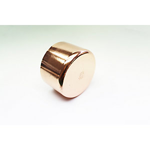 JW Copper Endfeed Stop End 54mm