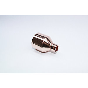 Jw Copper Endfeed Fitting Reducer 42mm x 15mm
