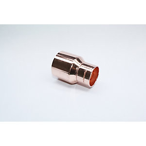 Jw Copper Endfeed Fitting Reducer 42mm x 28mm