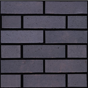 Ibstock Brick Staffordshire Slate Blue Smooth Facing Brick - Pack of 380