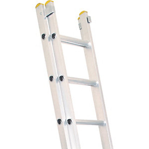 Lyte EN131-2 Professional 2 Section Extension Ladder 2x14 Rung