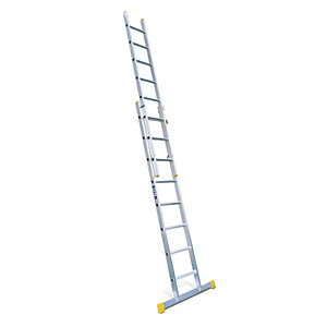 Lyte EN131-2 Professional 2 Section Extension Ladder 2x8 Rung