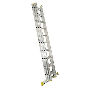 Lyte EN131-2 Professional 3 Section Extension Ladder 3x10 Rung