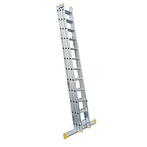 Lyte EN131-2 Professional 3 Section Extension Ladder 3x12 Rung