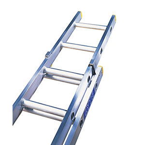 Lyte EN131 Trade 2 Section Extension Ladder 3.42m - 5.94m 12 Rung