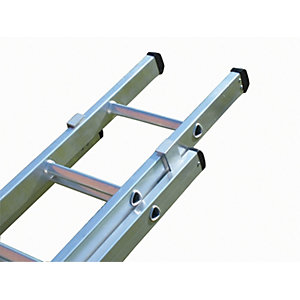 Lyte Industrial Class One 2 Section Extension Ladder 2 x 15 Rung