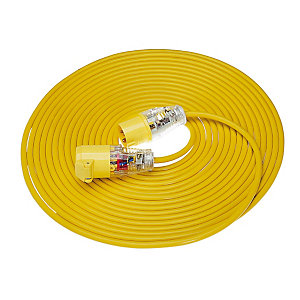 Birchwood Extension Lead Yellow Arctic 14m x 1.5mm x 110V E85111