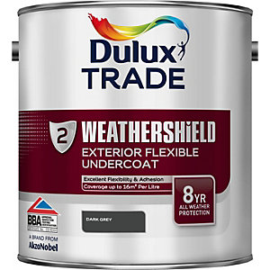 Dulux Paint Weathershield External Undercoat Dark Grey 2.5L
