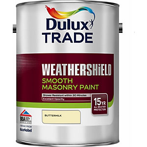 Dulux Smooth Masonry Paint Buttermilk 5L