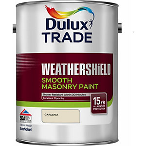 Dulux Smooth Masonry Paint Gardenia 5L