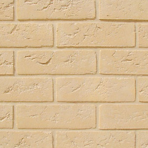 All About Bricks Facing Brick Buff Handmade - Pack of 624