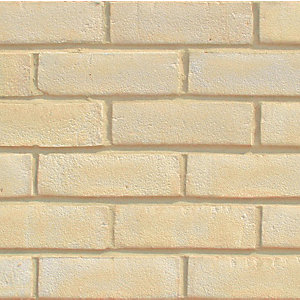 All About Bricks Facing Brick Buff Stock - Pack of 624