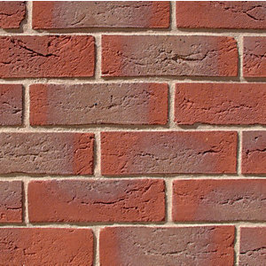 All About Bricks Facing Brick Red Multi Handmade - Pack of 624